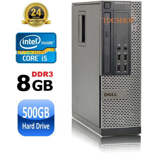 Bảng giá Case máy tính đồng bộ dell optiplex 7010 core i5 3470, ram 8gb, ổ cứng HDD 500GB. Hàng Nhập Khẩu. Tặng usb thu wifi Phong Vũ