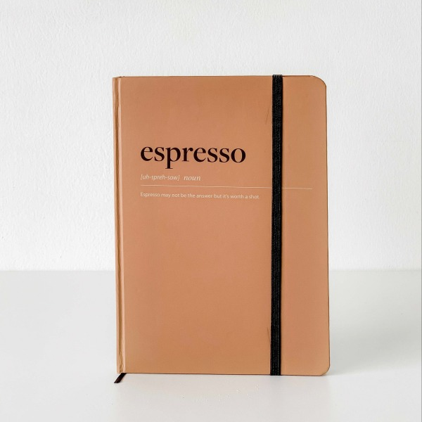Sổ Tay Dotgrid Crabit - Coffeeine Espresso