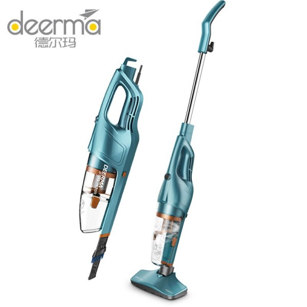 Máy hút bụi cầm tay đa năng Deerma DX900 màu xanh ngọc với 2 chế độ - Hàng chính hãng