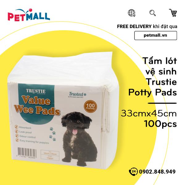 Tấm lót vệ sinh Trustie Potty Pads 33cm x 45cm - 100pcs