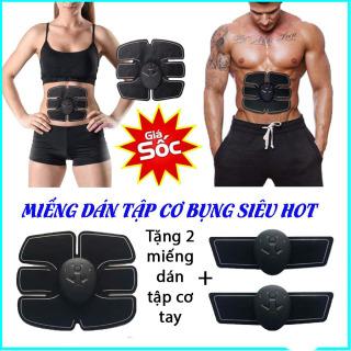 (KM TẶNG 2 MIẾNG TẬP CƠ TAY) Miếng dán tập cơ bụng 6 múi cao cấp,giúp cơ bụng săn chắc và rèn luyện sức khỏe tốt Máy Tập Bụng, Máy Tập Thể Dục Giảm Mỡ Bụng, May Tap Co Bung. GIẢM NGAY 50% thumbnail