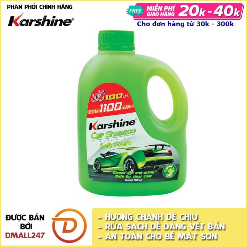 Xà bông rửa xe đậm đặc Karshine KA-RX1100 1100ml Nhiều mùi hương