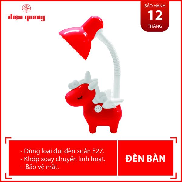 Đèn bàn bảo vệ thị lực Điện Quang ĐQ DKL16 B (Kiểu con kỳ lân, bóng led daylight)
