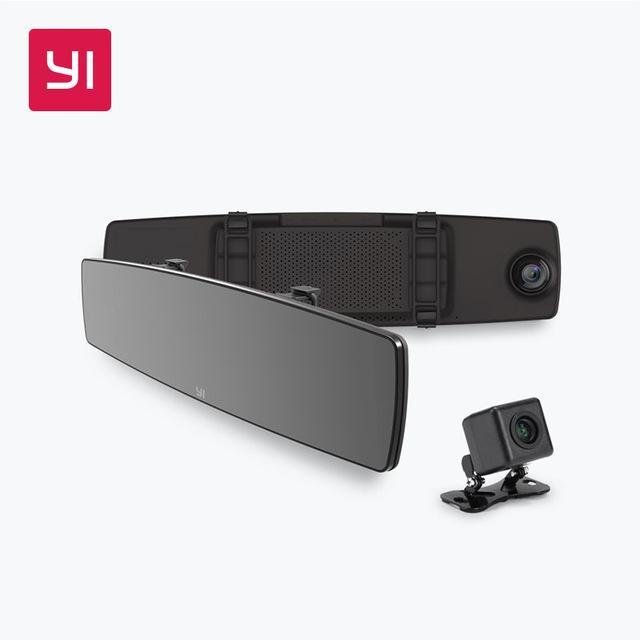 Camera hành trình gương Xiaomi Yi Mirror Dash Camera 2in1 trước sau kiêm cam lùi - Cực Tiện Lợi