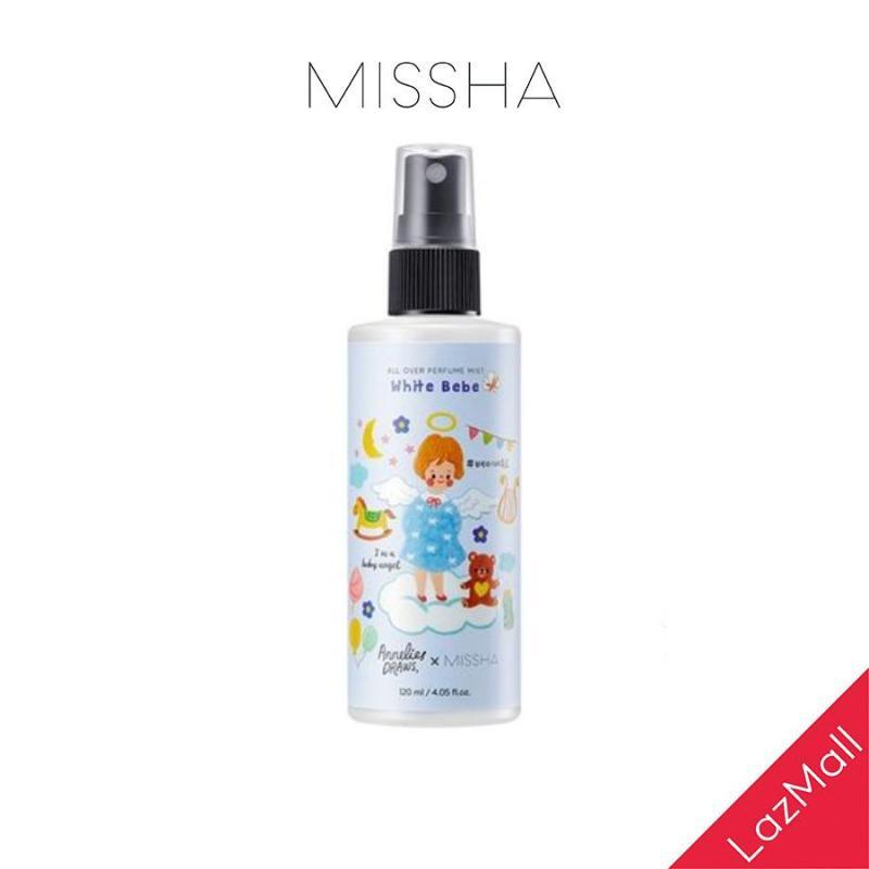 Xịt Khoáng Hương Nước Hoa Missha All Over Perfume Mist (White Bee) 120ml cao cấp