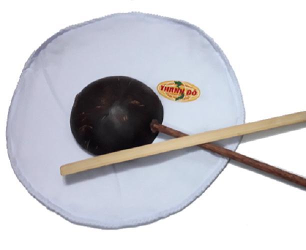 Khuôn Vải Tráng Bánh Cuốn Thành Đô size 25cm Tặng Bộ Gáo Dừa Thanh Tre