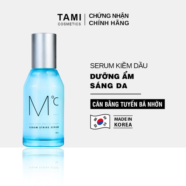 Serum kiềm dầu và dưỡng ẩm dành cho nam MdoC Sebum Strike Serum Tinh chất dưỡng ẩm và kiểm soát tiết dầu TM-MSR01