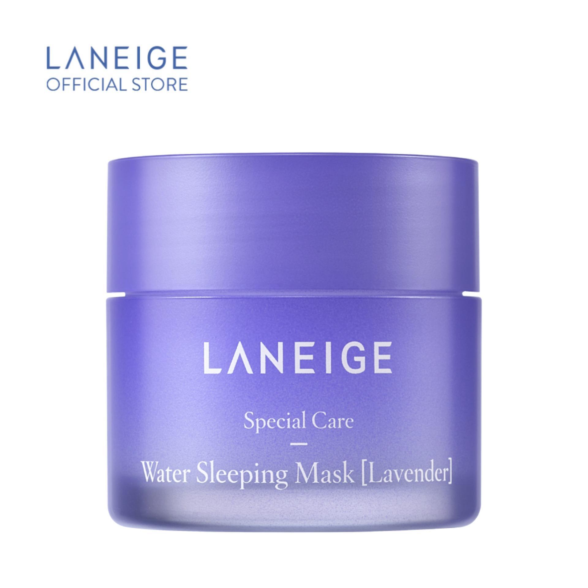 Mặt nạ ngủ dưỡng ẩm hương hoa oải hương Laneige Water Sleeping Mask Lavender Miniature 25ml
