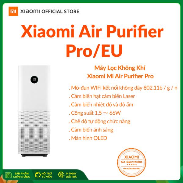 [XIAOMI OFFICIAL] Máy lọc không khí Xiaomi Mi Air Purifier Pro H EU BHR4280GL - Điều khiển bằng ứng dụng MiHome | Diện tích 70m2 | Khử mùi, diệt khuẩn | Cảm biến độ ẩm nhiệt kế- Hàng chính hãng - BH 12 Tháng