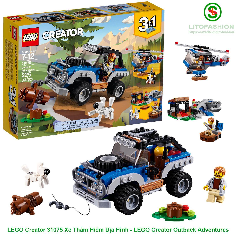 Giảm Giá Quá Đã Phải Mua Ngay LEGO Creator 31075 Xe Thám Hiểm Địa Hình 3IN1 - LEGO Creator Outback Adventures