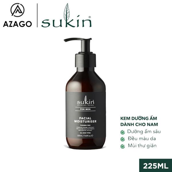 Kem Dưỡng Ẩm Dành Cho Nam Sukin For Men Facial Moisturiser 225ml SU42AZ - SUKINVN - AZAGO