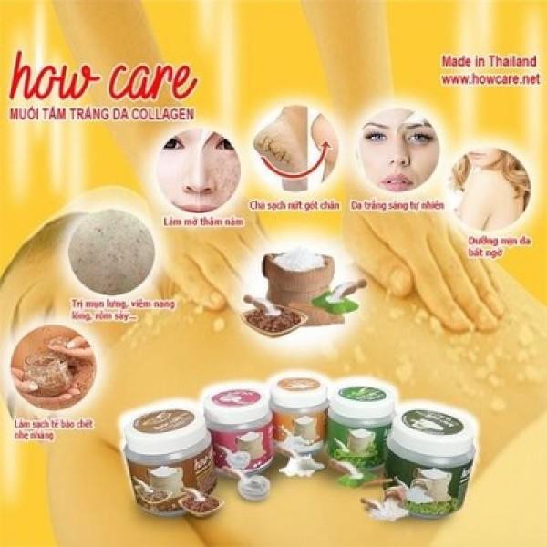 Muối Tắm Lúa Mạch How Care Spa Collagen 700G – Thái Lan ✅ giá rẻ