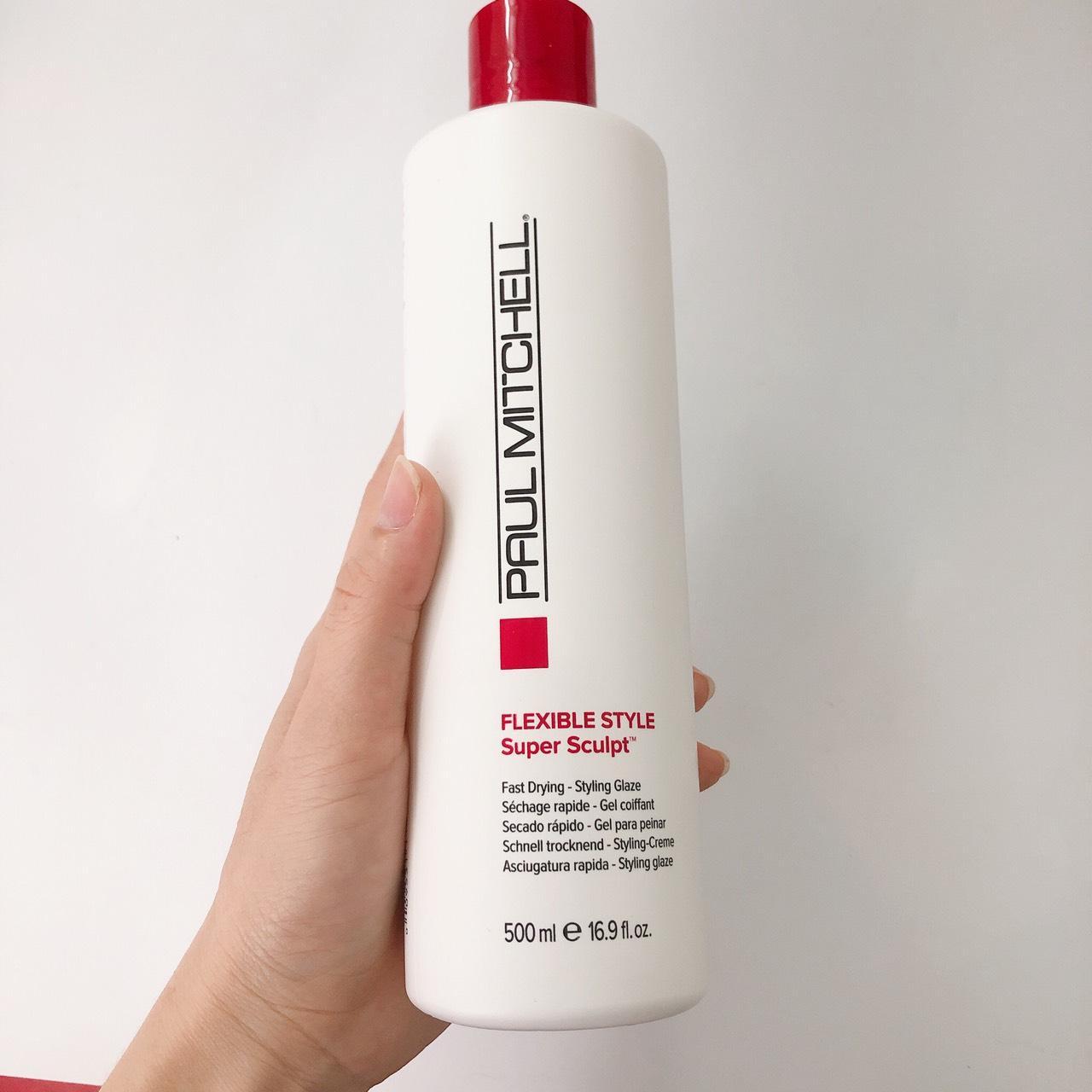 Gel giữ nếp tóc uốn (mùi táo xanh) Paul Mitchell Flexible Style Super Sculpt gel 500ml giá rẻ