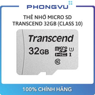 Thẻ nhớ Micro SD Transcend 32GB (Class 10) - Bảo hành 12 tháng thumbnail