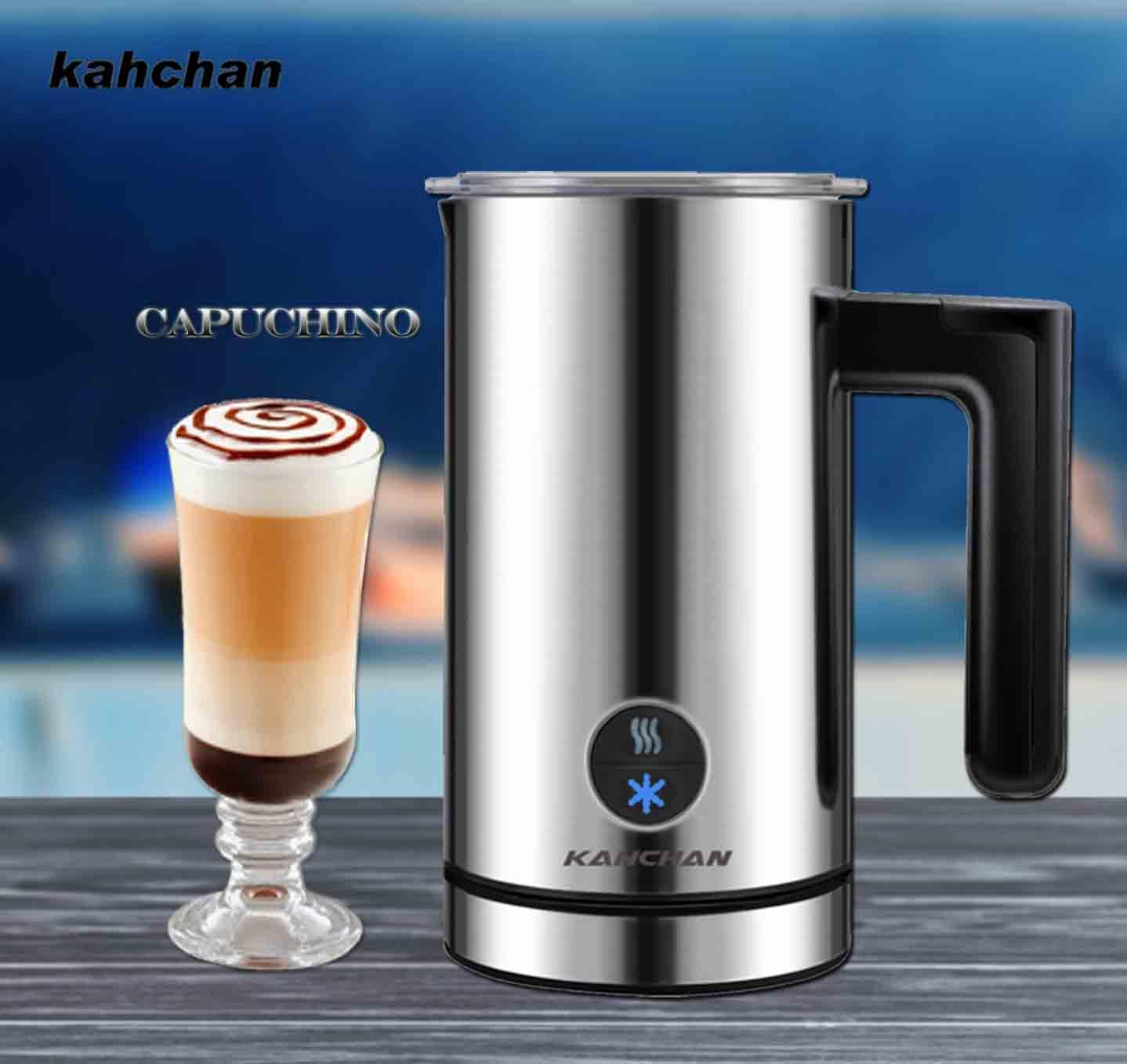 máy đánh sữa tạo bọt capuchino kahchan