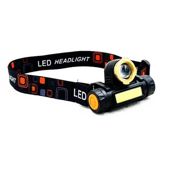 Bảng giá Đèn pin siêu sáng đội đầu XPE và 2 dải LED COB ,có chớp có led, sử dụng pin sac 4200mah,sac công usb 5v ,độc đáo bền rẻ đẹp . có video sản phẩm.