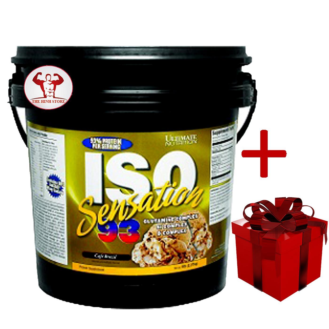SỮA TĂNG CƠ WHEY PROTEIN -ISO SENSATION 93 5LBS nhập khẩu