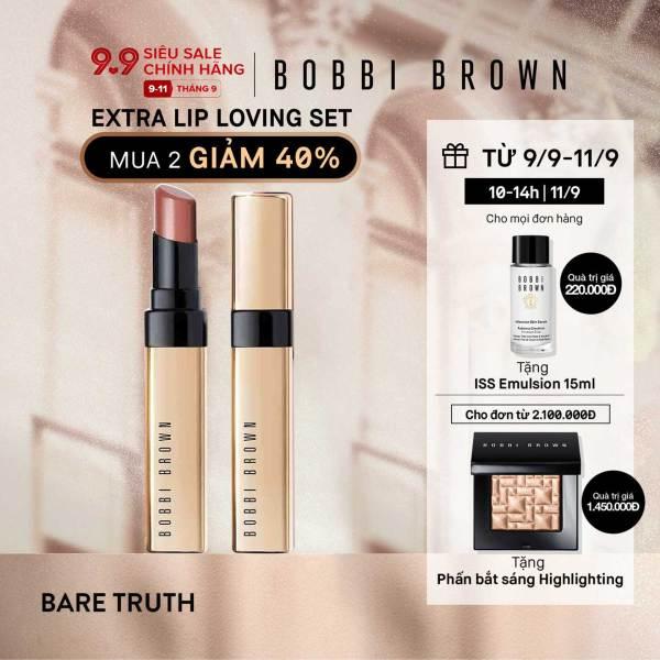 [9.9-11.9 MUA 2 SON BẤT KỲ - GIẢM 40%] Son môi Bobbi Brown Luxe Shine Intense Lipstick 3.4Gm cao cấp