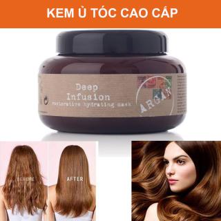Ủ Tóc, Kem Ủ Tóc, Dầu Ủ Tóc Cao Cấp. Kem ủ phục hồi tóc hư tổn. Giúp cho mọi kiểu tóc đều trở nên bóng khỏe và suôn mượt. Bảo vệ và giữu màu lâu bền. [MUA NGAY] thumbnail