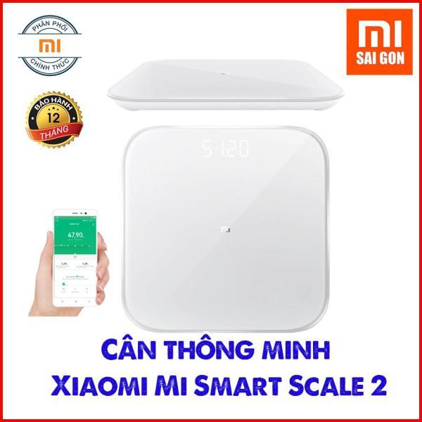 [ Bản Quốc Tế ] Cân thông minh Xiaomi Mi Smart Scale 2 - Năm 2019
