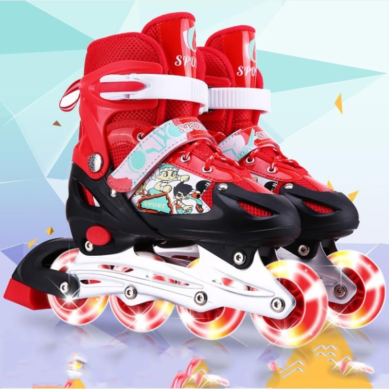 Phân phối Giày trượt Patin Sports tặng kèm bảo hộ tay và đầu gối