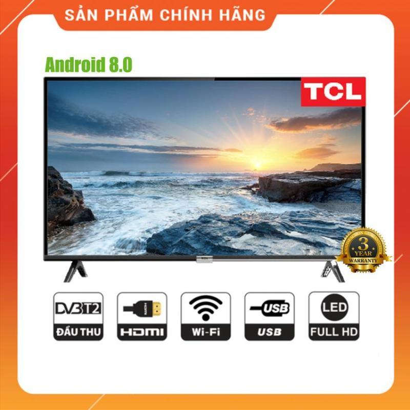 Bảng giá Android Tivi Led TCL 43 inch Full HD - Model 43S6500 (Đen) Tìm kiếm bằng giọng nói, Tích hợp DVB-T2, Wifi