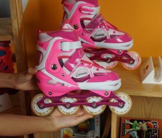 Giày Patin Trẻ Em Caroman K600 - 3 màu + Tặng tất chuyên dụng 100K thumbnail