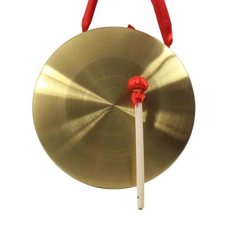 22cm Hand Gong Cymbals Brass Copper Nhà hát Opera với Vòng chơi Búa Mới