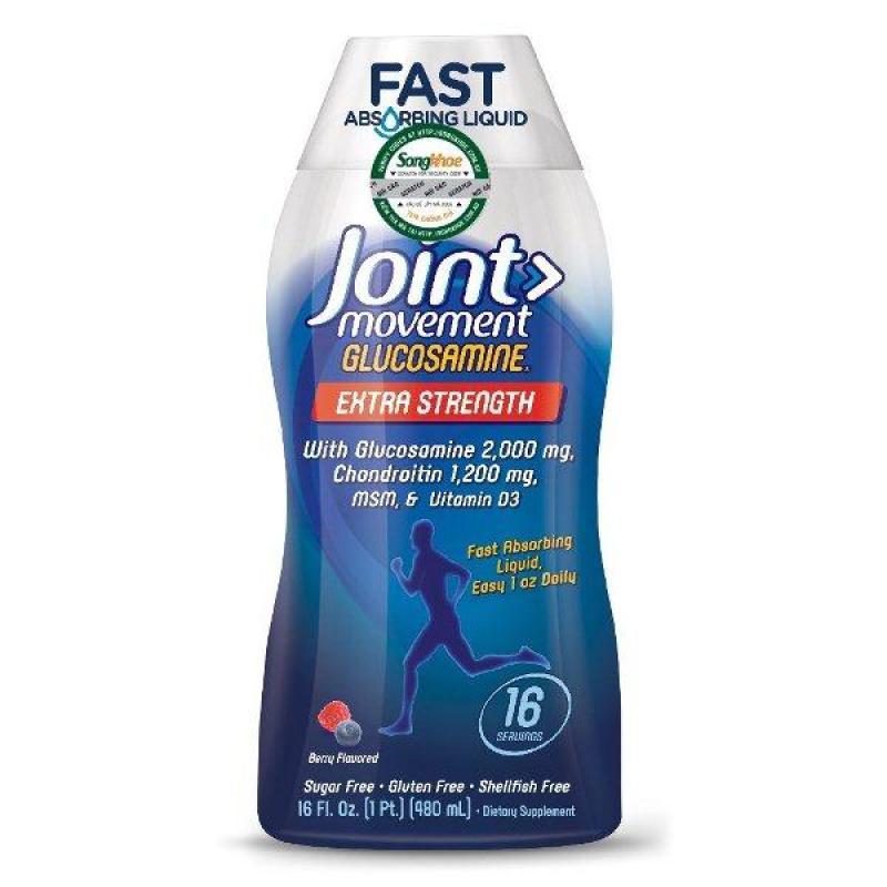 Thực phẩm bổ sung cho xương khớp Natures Way Joint Movement Glucosamine 480ml hạn sử dụng tháng 1/2020 cao cấp