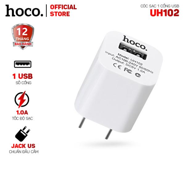 Cóc sạc Hoco UH102 1 cổng USB-Dành cho mọi thiết bị