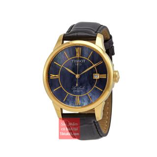 [HCM]Đồng hồ đeo tay nam Tissot Le Locle dây da T41.5.423.93 39mm automatic ETA2824 - 2 trữ cót 38 tiếng Swiss Made kính sapphire mạ vàng hồng khóa bướm chống gẫy dây thumbnail