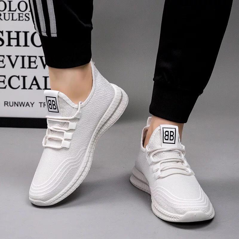 Giày Sneaker Nam Chống Trượt, Thoáng Khi Siêu Hot BT33