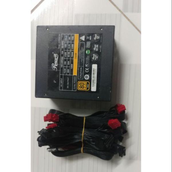 Bảng giá Nguồn Máy Tính Psu Rosewill photon 750w Nguồn module chuẩn 80 Plus gold chạy siêu êm Phong Vũ