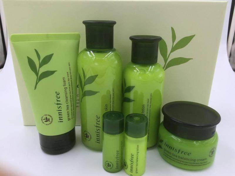 Bộ dưỡng trà xanh Innisfree Green Tea Balancing Special Skin Care Set 6 in 1 nhập khẩu
