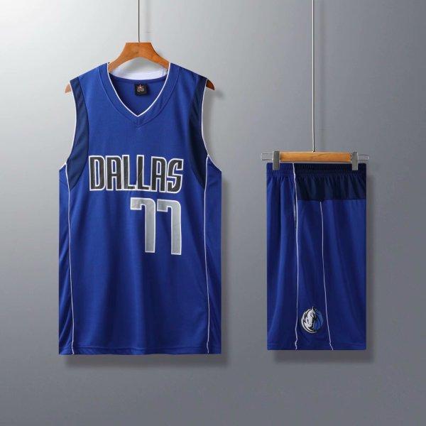 Bộ Quần Áo Bóng Rổ Dallas Mavericks - Luka Doncic - Mẫu 2020