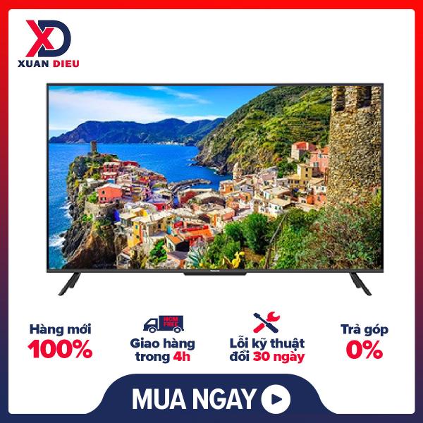 Bảng giá Android Tivi 4K Panasonic 65 Inch TH-65JX750V  Hệ Điều Hành Android TV-Q/10.0, Bảo Hành 24 Tháng chính hãng - giao hàng miễn phí HCM