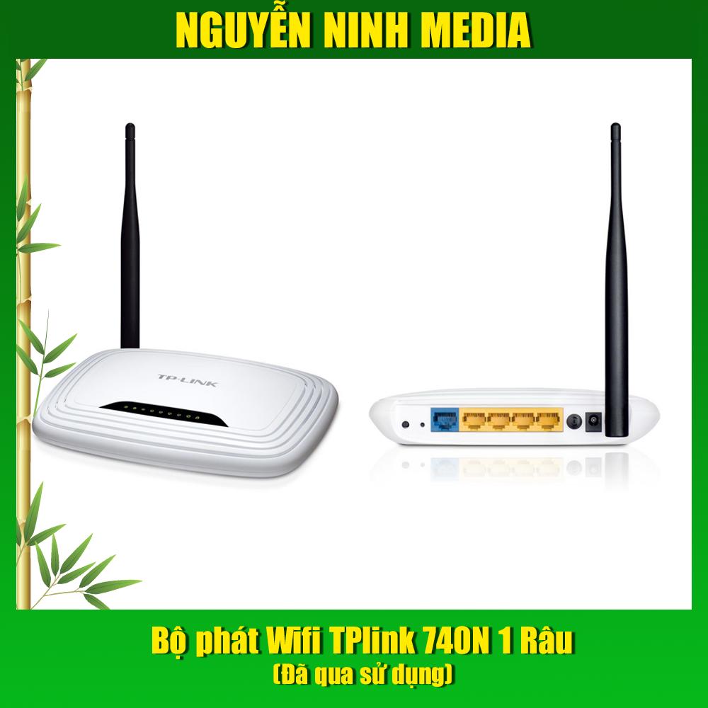 Giá Modem Wifi 2 Râu 841N và 1 Râu 740N Tp.Link kèm adapter - Hàng đã qua SD