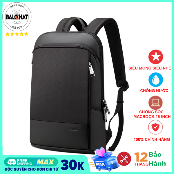 Balo laptop BOPAI cao cấp, kiểu dáng Ultra Slim, đựng vừa macbook pro 16 inch, tiện dụng nhỏ gọn