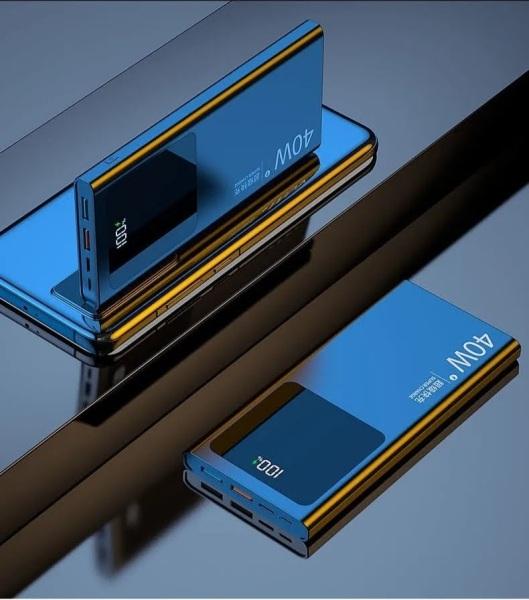 Pin Sạc Dự Phòng 20000mAh Sạc Siêu Nhanh 40W - Sạc Nhanh PD Cho Các Dòng iPhone Huawei Samsung Xiaomi Oppo Vivo
