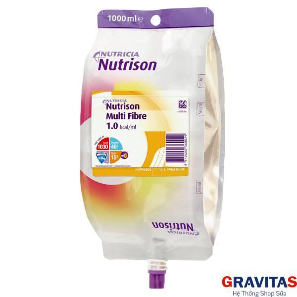 Sữa Nutrison Fibre - Dinh Dưỡng Cho Người Ăn Xông