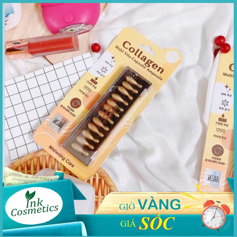 Viên Collagen Tươi Ammud Multi Vita Ampoule Hàn Quốc - Hàng Chính Hãng Với Giá Sốc