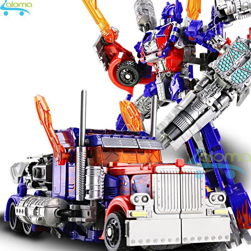 Robot Biến Hình ôtô Transformer Cao 20cm Mẫu Optimus Prime Cùng Giá Khuyến Mãi Hot