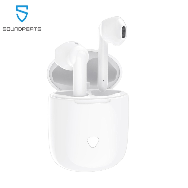 Siêu Tiết Kiệm Khi Mua SoundPEATS Bluetooth Earbuds True Wireless Touch Control Earphones 30Hrs Playtime CVC Noise Cancellation Battery Display