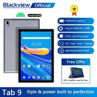 """Blackview Tab9 10.1 """"Máy tính bảng Android 10 Tab 9 1920x1200 Octa Core 4GB RAM 64GB ROM 4G Mạng 13MP Camera sau Máy tính bảng 7480mAh Máy tính bảng"""
