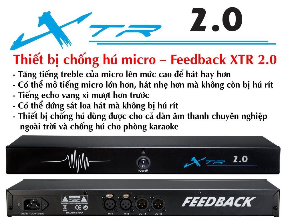 Chống Hú Micro Feedback XTR 2.0 - XTR 2.0 Nhật Bản