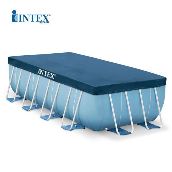 Tấm phủ bể khung kim loại chữ nhật 4Mx2M INTEX 28037