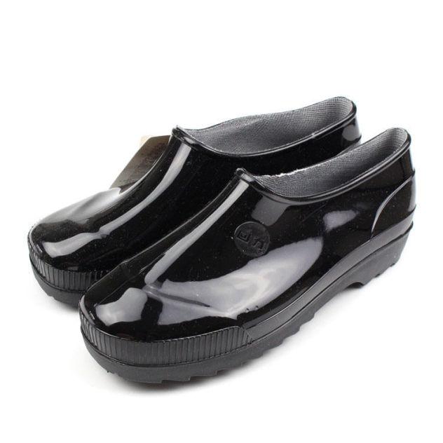Kéo Trở Lại Để Giúp Giày Nữ Giày Đi Mưa Nam Ngắn Chống Trượt Chống Mài Mòn Cộng Với Bông Ấm Áp Cao Su Giày Bảo Hộ Lao Động Bốn Mùa Không Thấm Nước giá rẻ