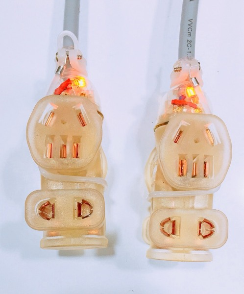 Ổ cắm đúc điện 2 pha và 3 pha nguyên khối lỏi đồng có đèn, 1 cái chiệu tải 250V - 20A - 4000W chống cháy, siêu chặt, siêu bền, đảm bảo an toàn