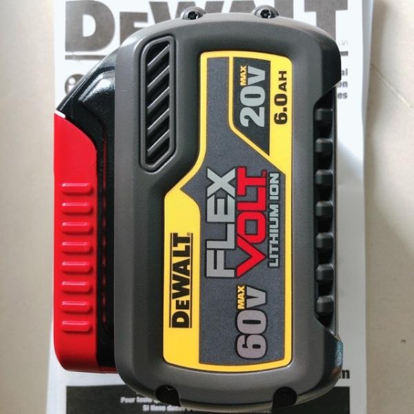 [Lấy mã giảm thêm 30%]Pin dewalt FLEXVOLT 20v-60v max