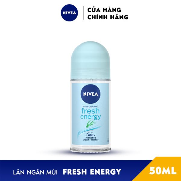 Lăn Ngăn Mùi NIVEA Fresh Energy Tươi Mát Sức Sống (50ml) - 83754
